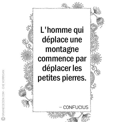 Graine d'Eden - Citations - CONFUCIUS