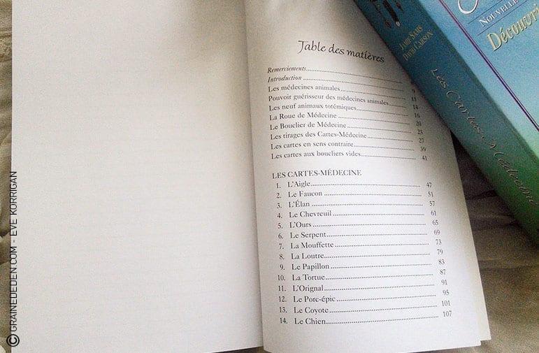 Les cartes médecines - découvrir son animal Totem de amie Sams et David Carson. Comment choisir son oracle sur la médecine animale, les animaux Totems ? Graine d'Eden - Développement personnel, guidance, tarot et oracle divinatoires