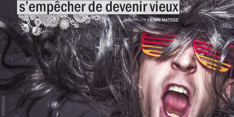 Citation - Henri Matisse - On ne peut s'empêcher de vieillir, mais on peut s'empêcher de... - Graine d'Eden