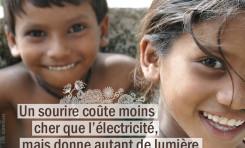 Un sourire coûte moins cher que l'électricité, mais...