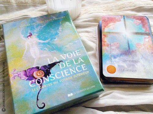 La voie de la conscience, les cartes du Voyage intérieur de Marisa Ortolan et Eve Fouquet