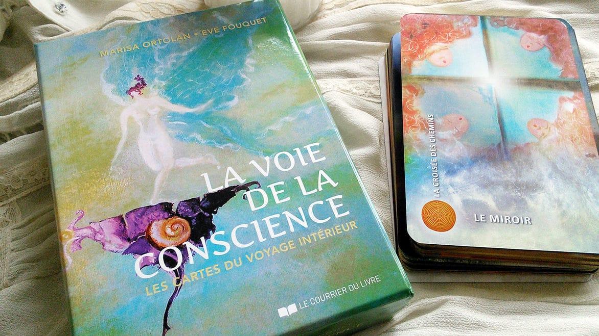 La voie de la conscience, les cartes du Voyage intérieur de Marisa Ortolan  et Eve Fouquet. Graine d Eden, cartes, oracles et tarot, développement  personnel 31a9ac638501