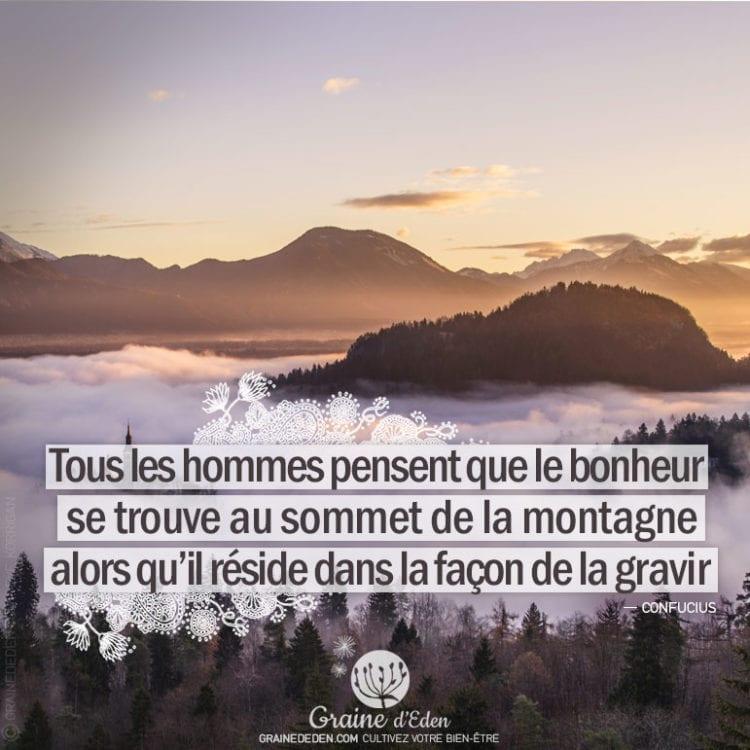 Citation - Confucius - Tous les hommes pensent que ...