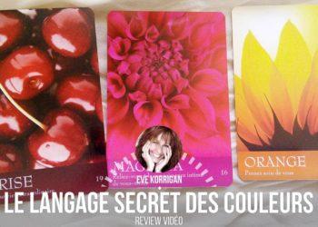 Le langage Secret des couleurs de Inna Segal - Coffret cartes Thérapie par les couleurs