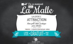Nouveauté dans la Malle - La Loi de l'Attraction, le cahier pratique.