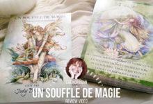 Review des cartes Un souffle de Magie - Jody Bergsma. Développement personnel pensées positives, guidance, présentations de coffrets de cartes, de Livres...