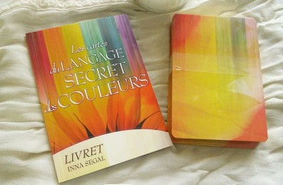 Les cartes du langage secret des couleurs - Oracle thérapeutique.