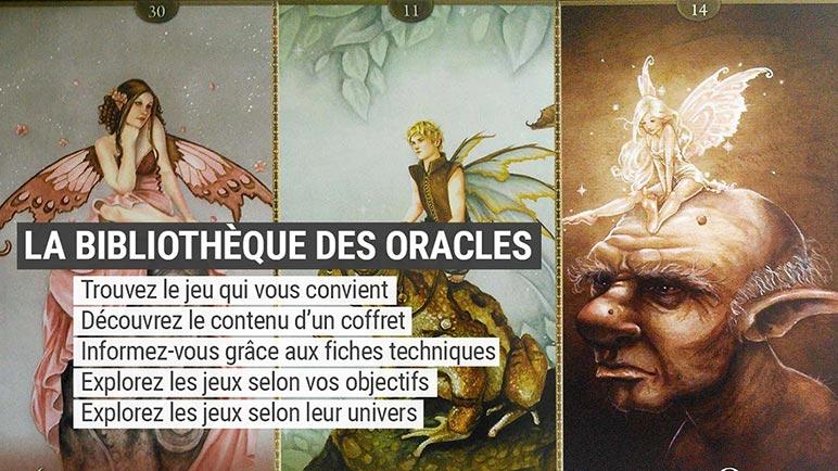Bibliothèque des cartes oracle divinatoires - Oracles divinatoires - Présentation et review - Graine d'Eden