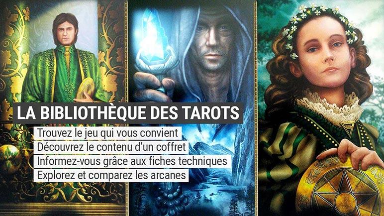 Bibliothèque des tarots divinatoires - Tarots divinatoires - Présentation et review - Graine d'Eden