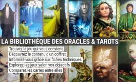 La bibliothèque de jeux - Cartes Oracle et Tarot