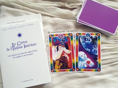 Coffret Tarot (Cartes + Livres) pour le développement personnel - Les cartes de l'enfant intérieur