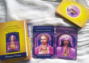 Les cartes divinatoires des Maîtres Ascensionnés de Doreen Virtue - Graine d'Eden