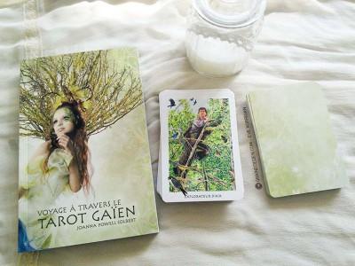 Le Tarot Gaien - Le Tarot Gaïen - Graine d'Eden, review, présentation de jeux de tarots, oracles.