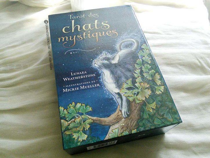Le Tarot des chats mystiques - Graine d'Eden, review, présentation de jeux de tarots, oracles.