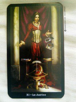 Le Tarot Steampunk de Barbara Moore