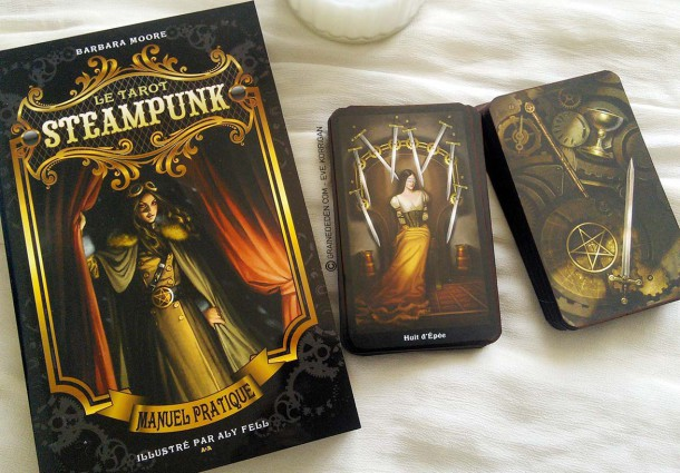 Review du Tarot Steampunk de Barbara Moore