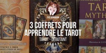 Cours de tarot gratuit - 3 coffrest de tarots divinatoires pour apprendre facilement Graine d'Eden - Eve Korrigan