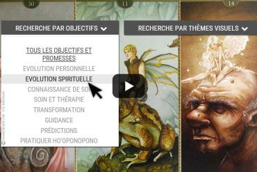Présentation de la bibliothèque interactive des Oracles divinatoires