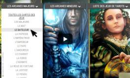 Présentation de la bibliothèque interactive des Tarots divinatoires