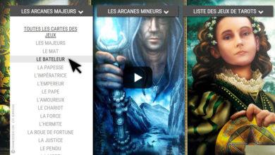La bibliothèque des tarots divinatoires - Comment choisir un tarot. Graine d'Eden, Tarots, Oracles divinatoires.