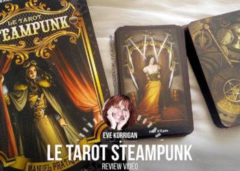 Le Tarot Steampunk de Barbara Moore - Graine d'Eden la bibliothèque des Tarots, revue, review, présentation de Tarot et Oracle Divinatoires