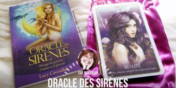 L'Oracle des Sirènes : Messages de guérison, d'amour et d'affection - Graine d'Eden review, présentation. Cartes Oracle, tarot