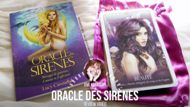 L'Oracle des Sirènes : Messages de guérison, d'amour et d'affection - Graine d'Eden review, présentation. Cartes Oracle, tarot