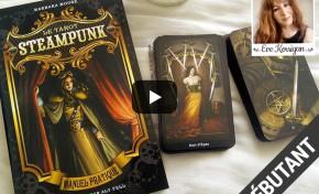 Vidéo Review, Le Tarot Steampunk de Barbara Moore
