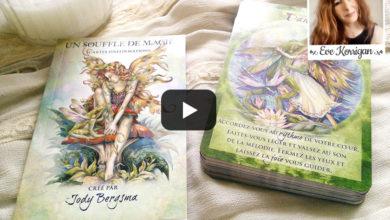 Revue oracle divinatoire - cartes un souffle de magie review - Graine d'Eden - Eve Korrigan - Présentation, cours de tarots et oracles divinatoires