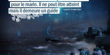 L'Idéal est pour nous ce qu'est une étoile pour le marin. Il ne peut être atteint mais il demeure un guide. ALBERT SCHWEITZER - Graine d'Eden citations