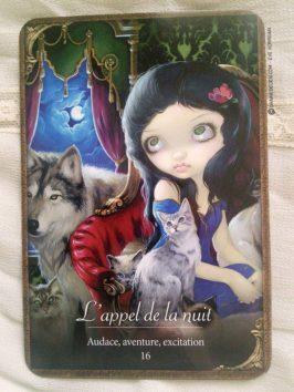 Oracle des Vampires de Lucy Cavendish - Graine d'Eden, review et présentation de tarots et oracles divinatoires.