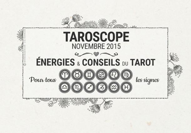 Taroscope du mois de Novembre 2015