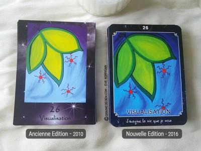 Oracle de Krystal de Corine Madelain - Review et présentation de ce jeu pour travailler avec la Loi de l'Attraction. Graine d'Eden tarots, oracles divinatoires.