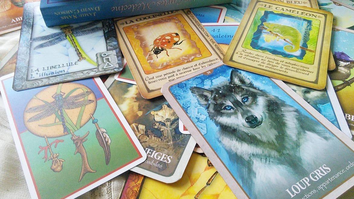animal totem et m decine animale quels sont les diff rents cartes oracle et comment bien choisir. Black Bedroom Furniture Sets. Home Design Ideas