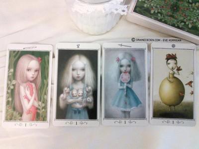 Nicoletta Ceccoli Tarot présentation et review de tarot divinatoire - Graine d'Eden La bibliothèque des Tarots divinatoires