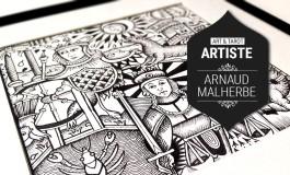 Art et Tarot - Portrait de l'artiste Arnaud Malherbe