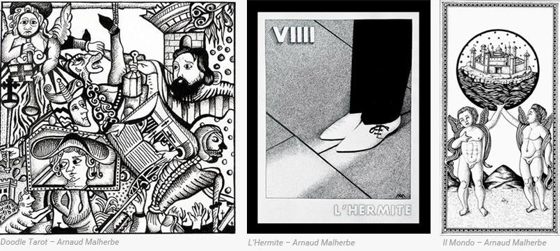 Art et Tarot Artiste Arnaud Malherbe - Arcane Majeur - Tarot divinatoire - Cartes Tarot - Graine d'Eden
