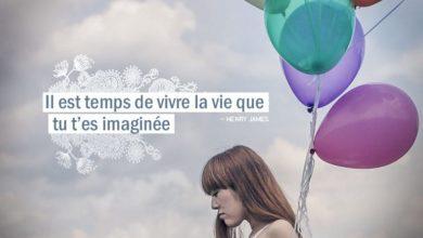 Il est temps de vivre la vie que tu t'es imaginée. HENRY JAMES - Graine d'Eden citation
