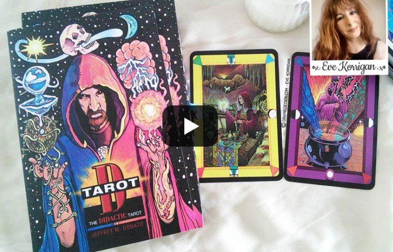 vidéo review Tarot D The Didactic Tarot - Graine d'Eden présentation de tarot divinatoire oracle divinatoire.