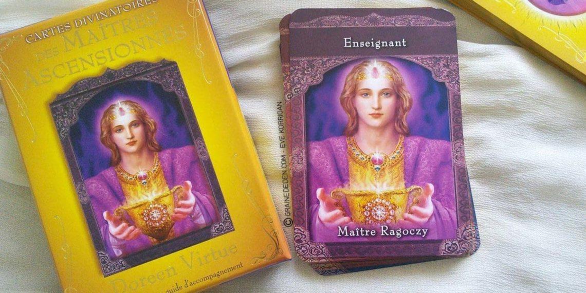 Review Les cartes divinatoires des Maîtres Ascensionnés de Doreen Virtue - Graine d'Eden review et présentation de cartes Oracle et tarots divinatoires