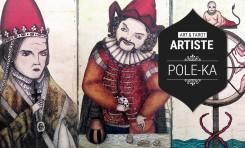 Art et Tarot - Portrait de l'artiste Pole-Ka