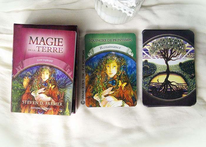 Cartes Oracle Magie de la Terre de Steven D. Farmer - Review et présentation de cartes oracle - Graine d'Eden - Développement personnel, spiritualité, guidance, oracles et tarots divinatoires