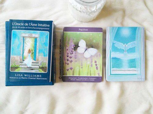L'Oracle de l'âme intuitive de Lisa Williams - Review et présentation de cartes oracle - Graine d'Eden - Développement personnel, spiritualité, guidance, oracles et tarots divinatoires