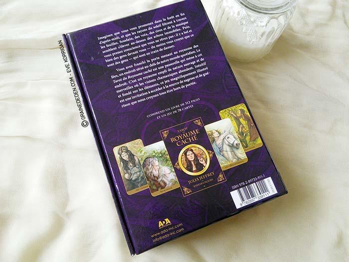 Tarot du Royaume Caché de Barbara Moore et Julia Jeffrey - Review et présentation de Tarots divinatoires - Graine d'Eden - Développement personnel, spiritualité, guidance, oracles et tarots divinatoires