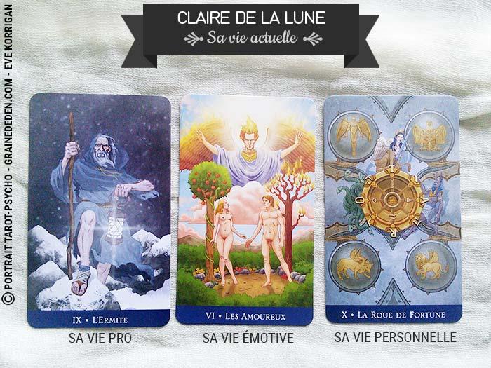 Tarot Découverte - Claire de la Lune - Le Tarot psychologique - Graine d'Eden développement personnel Méthodes et jeux