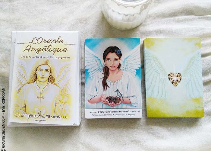 L'Oracle Angélique de Marie-Chantal Martineau - Graine d'Eden Développement personnel, spiritualité, guidance, oracles et tarots divinatoires - La bibliothèque des Oracles