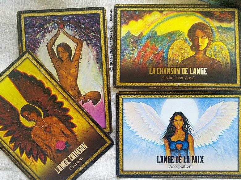 L'Oracle de l'Archange Michael l'Ange Bleu de Toni Carmine Salerno - Graine d'Eden Tarots, Oracles divinatoires - Livres de développement personnel, spritualité