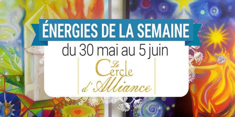 30 mai au 5 juin - Votre guidance de la semaine avec les cartes Le Cercle d'Alliance de Béatrice Lhériteau et François Merinis - Quelle sera votre énergie cette semaine - Graine d'Eden tarot et oracle divinatoires