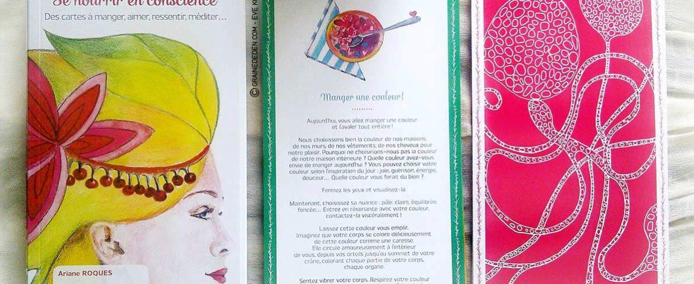 Review du jeu Se Nourrir en Conscience de Ariane Roques