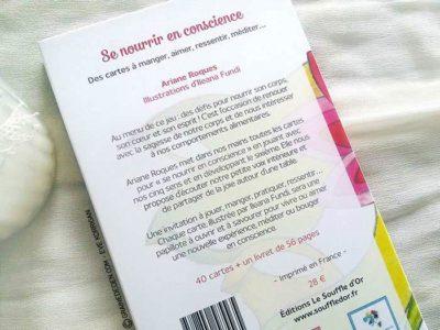 Se Nourrir en conscience de Ariana Roques - Graine d'Eden Développement personnel, spiritualité, guidance, oracles et tarots divinatoires - La bibliothèque des Oracles